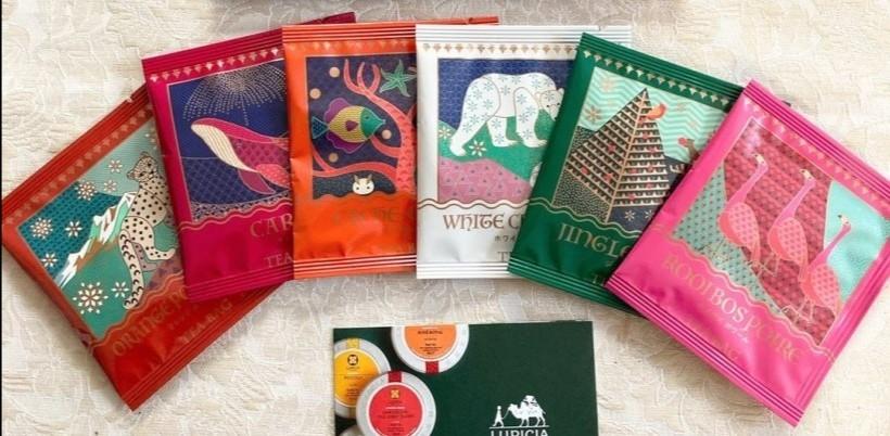 ルピシア 2020冬 ティーバッグセット6種華やかな紅茶のセット 紅茶のフレーバードティーに、ルイボスティーも1種 デザートティー