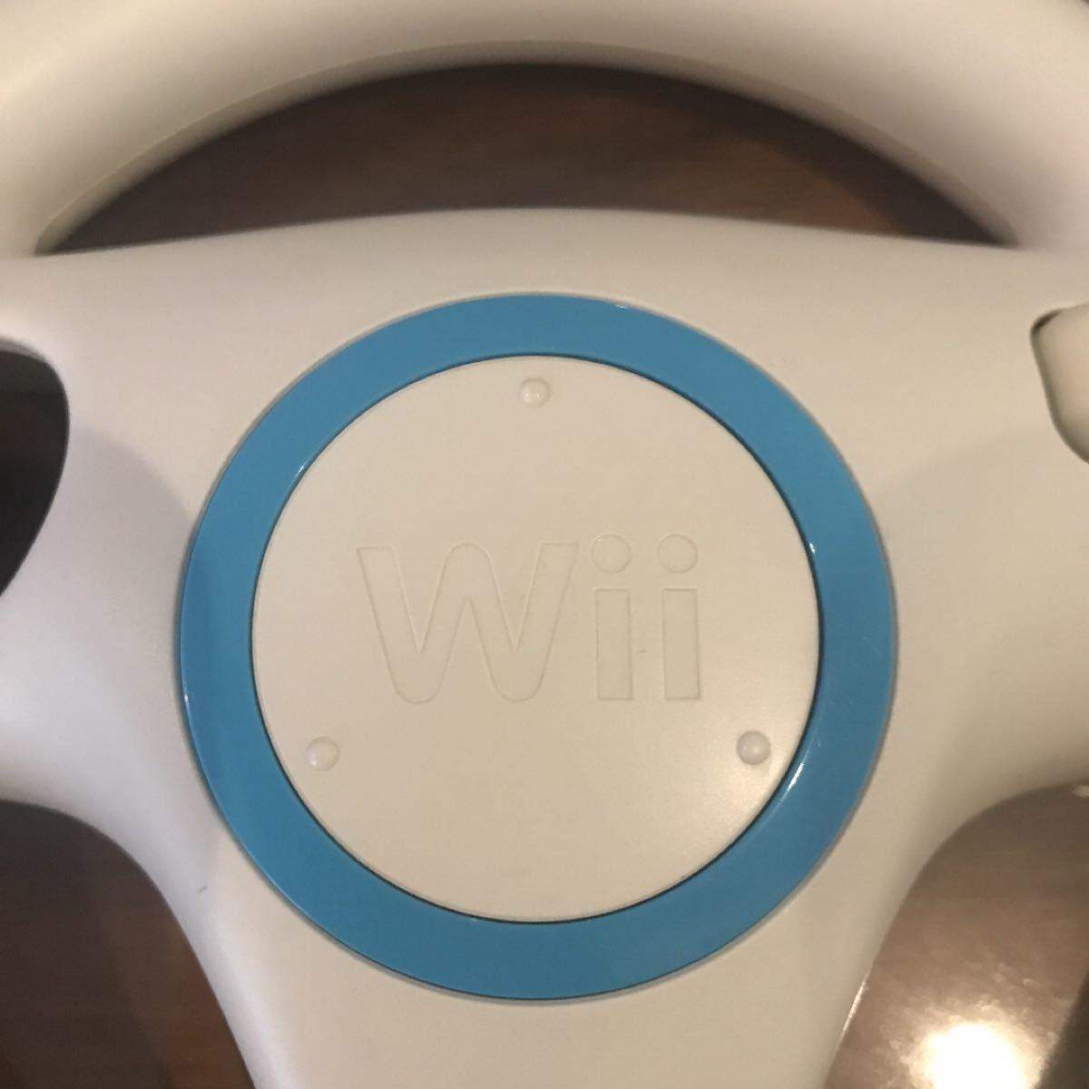 Wii マリオカートハンドル・2つセット