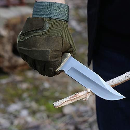 MOSSY OAK シースナイフ 全長275mm 折り畳みスモールナイフセット