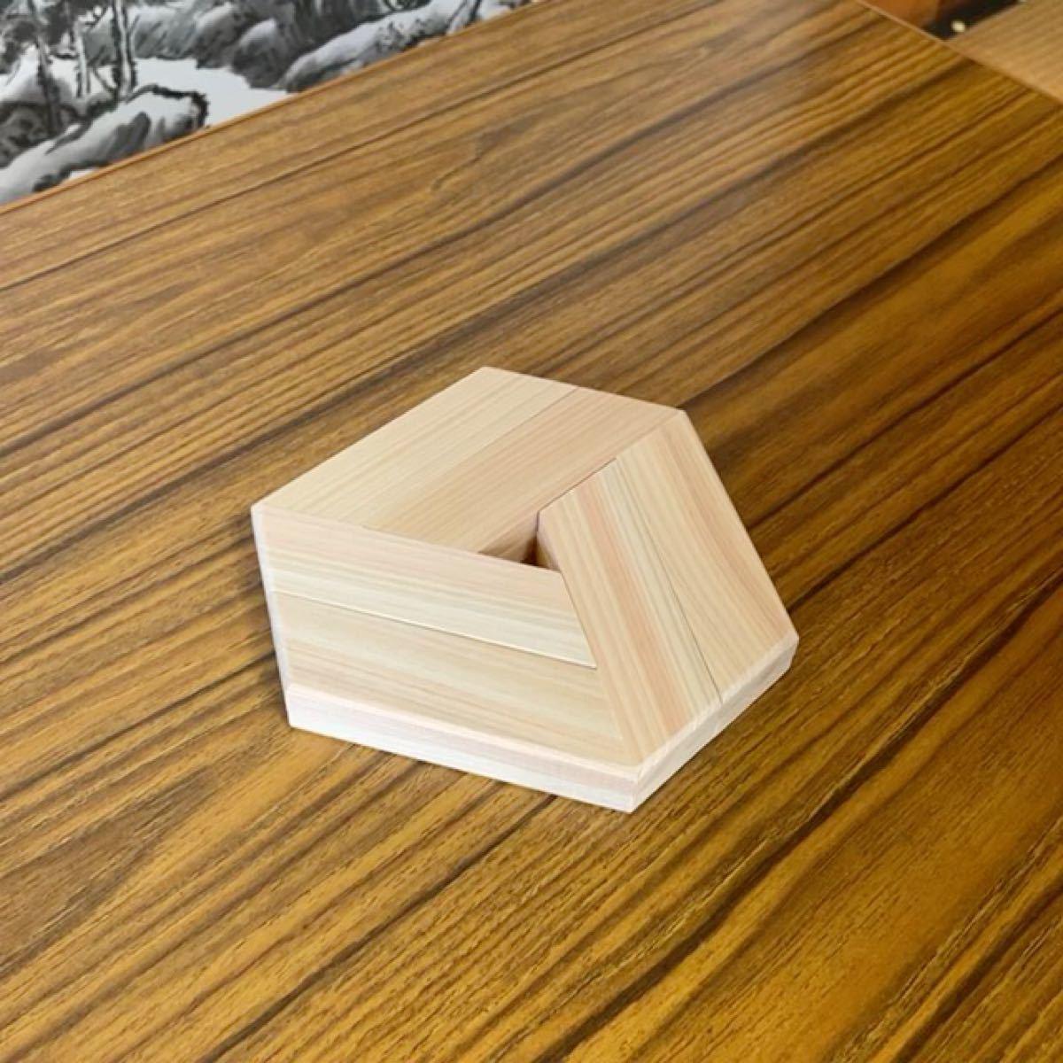 花台 or 鍋敷き 面取り済み奈良県 吉野産 桧 檜 鍋敷 ひのき 木 木製品