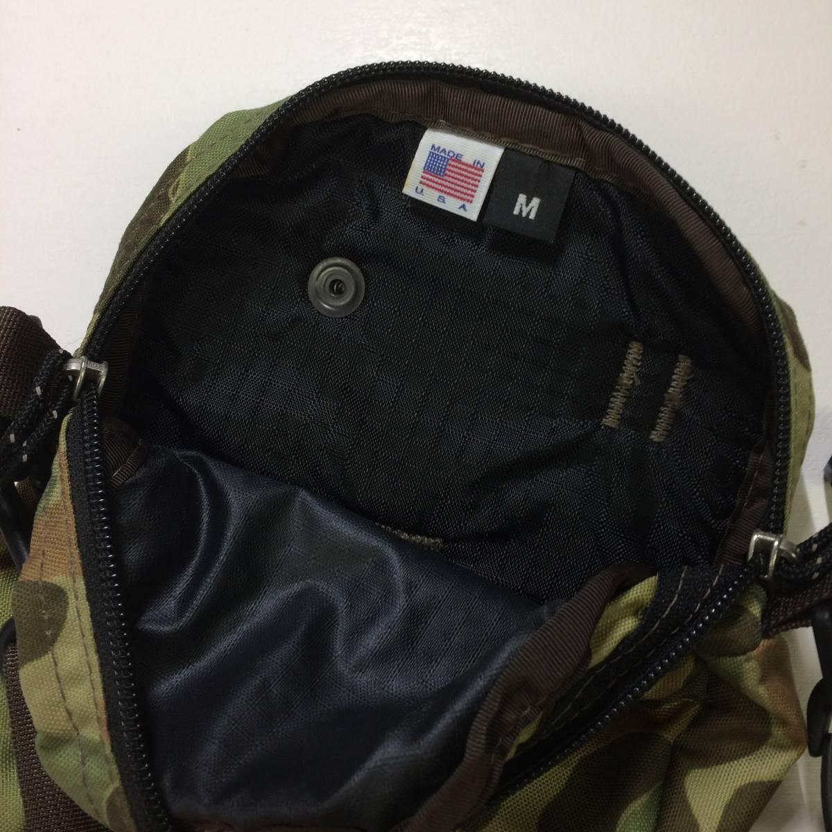 USA製 グレゴリー クイックポケットM ww2 ダックハントカモ 迷彩 ショルダーポーチ ポシェット