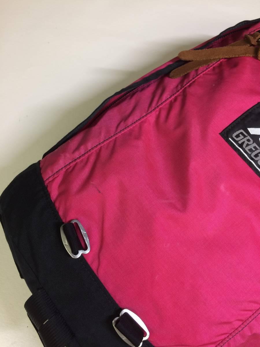 USA製 グレゴリー デイパック ピンク フーシャ 旧タグ GREGORY リュック