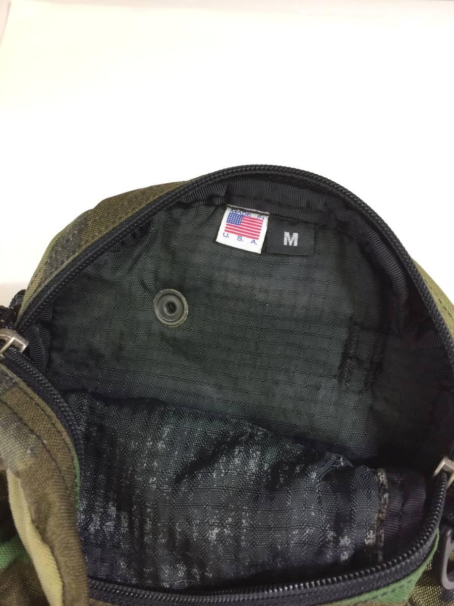 USA製 グレゴリー クイックポケットM ウッドランドカモ 迷彩 ショルダーポーチ ポシェット