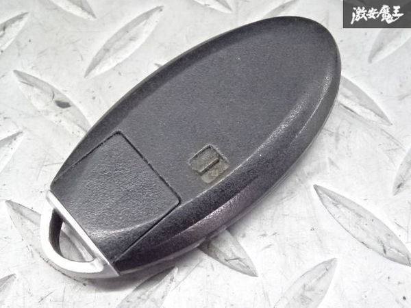 日産純正 スマートキー インテリジェントキー キーレス 鍵 カギ 両側スライド BPA0M-11 4ボタン 車種不明 ジャンク 棚2A58_画像3