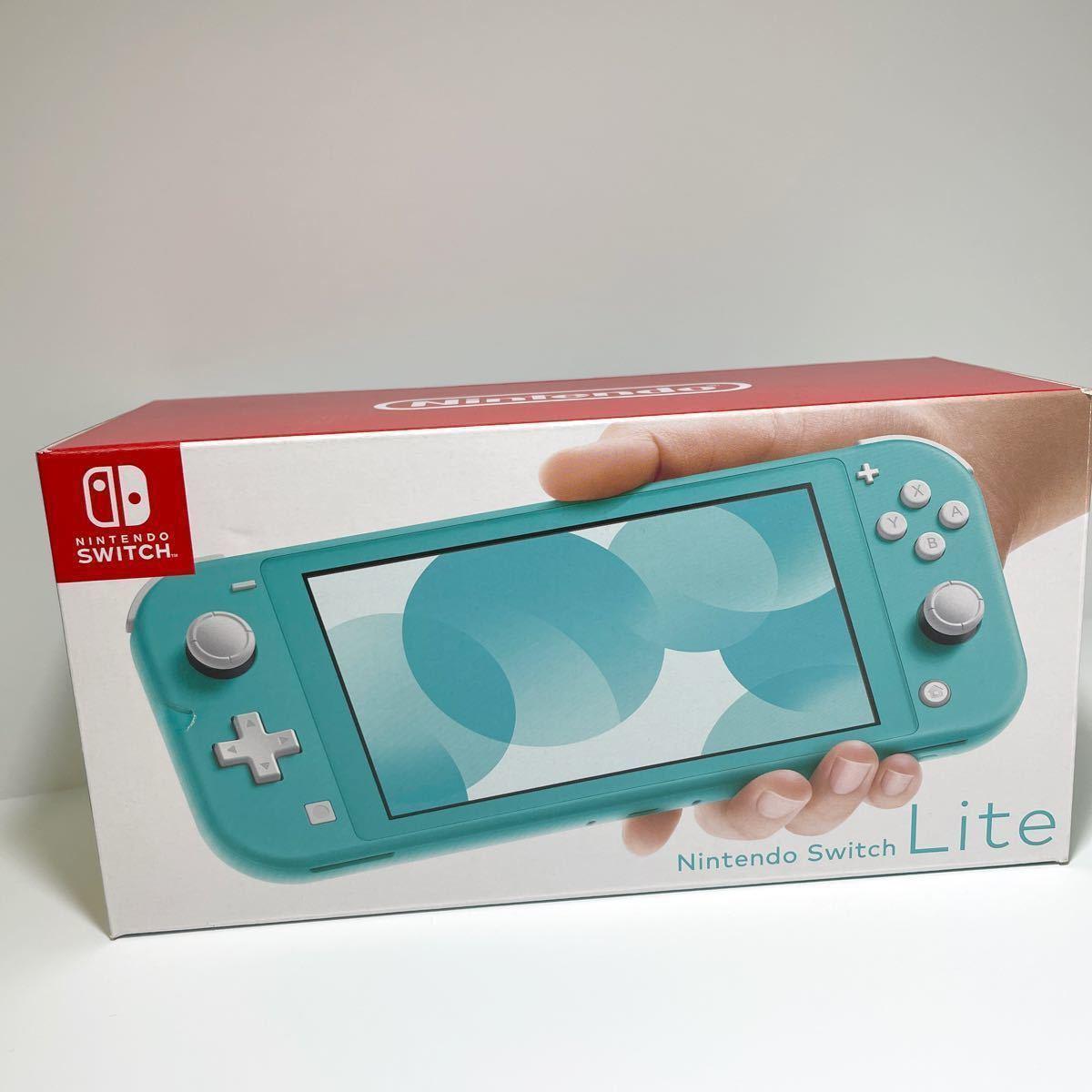 ニンテンドースイッチライト 本体 新品 未開封 任天堂 nintendo switch 箱キズあり