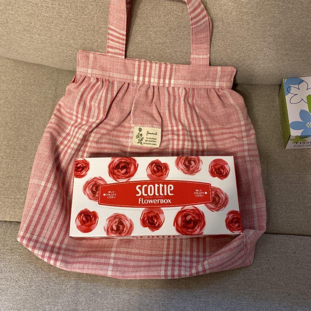 ハンドメイド ハンドバッグ  サブバッグ ミニトート 手提げバッグ ピンク