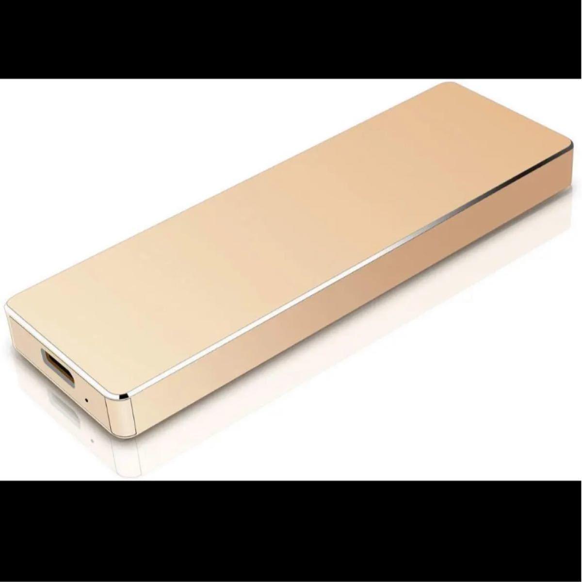 超薄型 外付けHDDハードディスクポータブルUSB3.1/TypeC 1TB