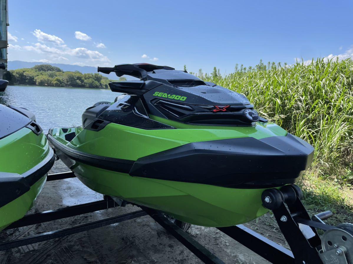 「SEADOO RXT-X 300 RS 2020年モデル 52hr シードゥー ジェット 下取り 交換 バイク 車 トレーラー」の画像1
