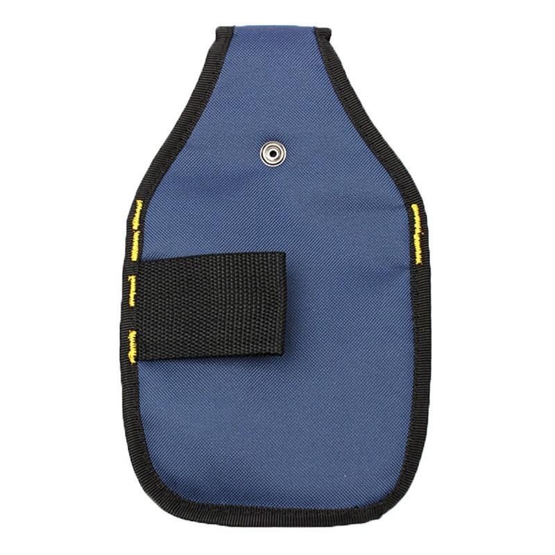 新品 工具入れ ウエストツールバッグ 工具差し 腰袋 工具収納 多機能 道具袋 オックスフォード 防水 サイズ調整 DIY 黒 青_画像2