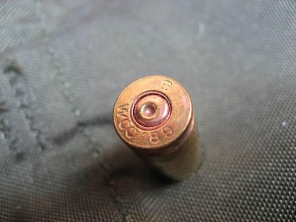 【安全品】 9mm ベレッタ 空薬莢 米軍実物品 ダミーカート 1発_画像1