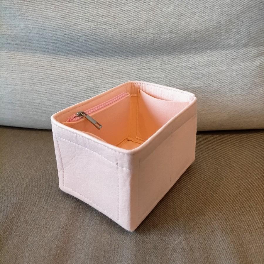 バッグインバッグ インナーバッグ エトゥープ エルメス ピコタン PM ピンク