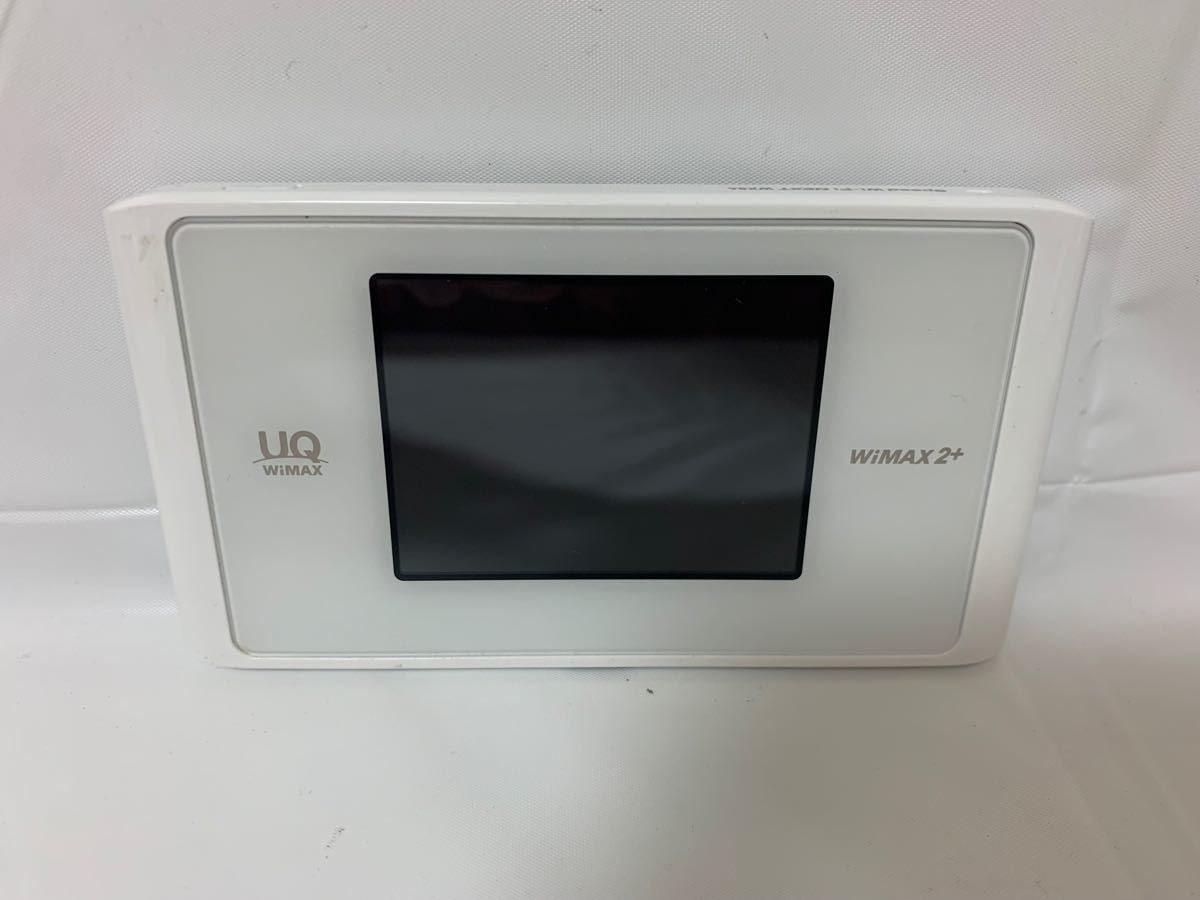 ★美品★Speed Wi-Fi NEXT WX04 クリアホワイト