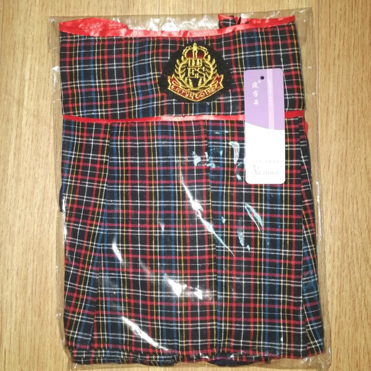 セーラー服 コスプレ ミニスカ セクシー タータンチェック AKB  英国調 コスプレ衣装 コスプレ