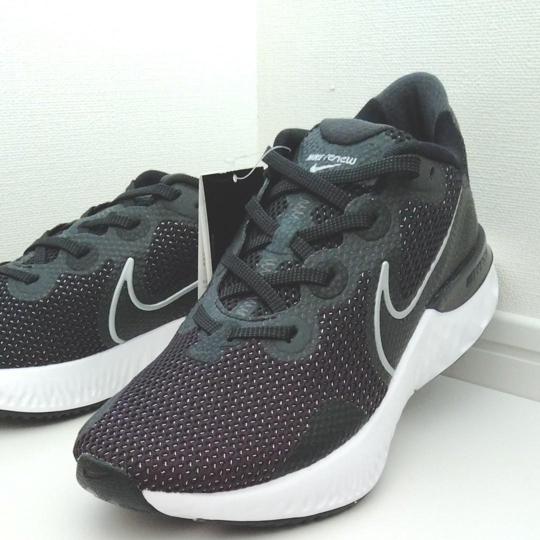 Nike Renew Run Men's Running Shoe ランニングシューズ メンズ 26.5 ブラック 黒