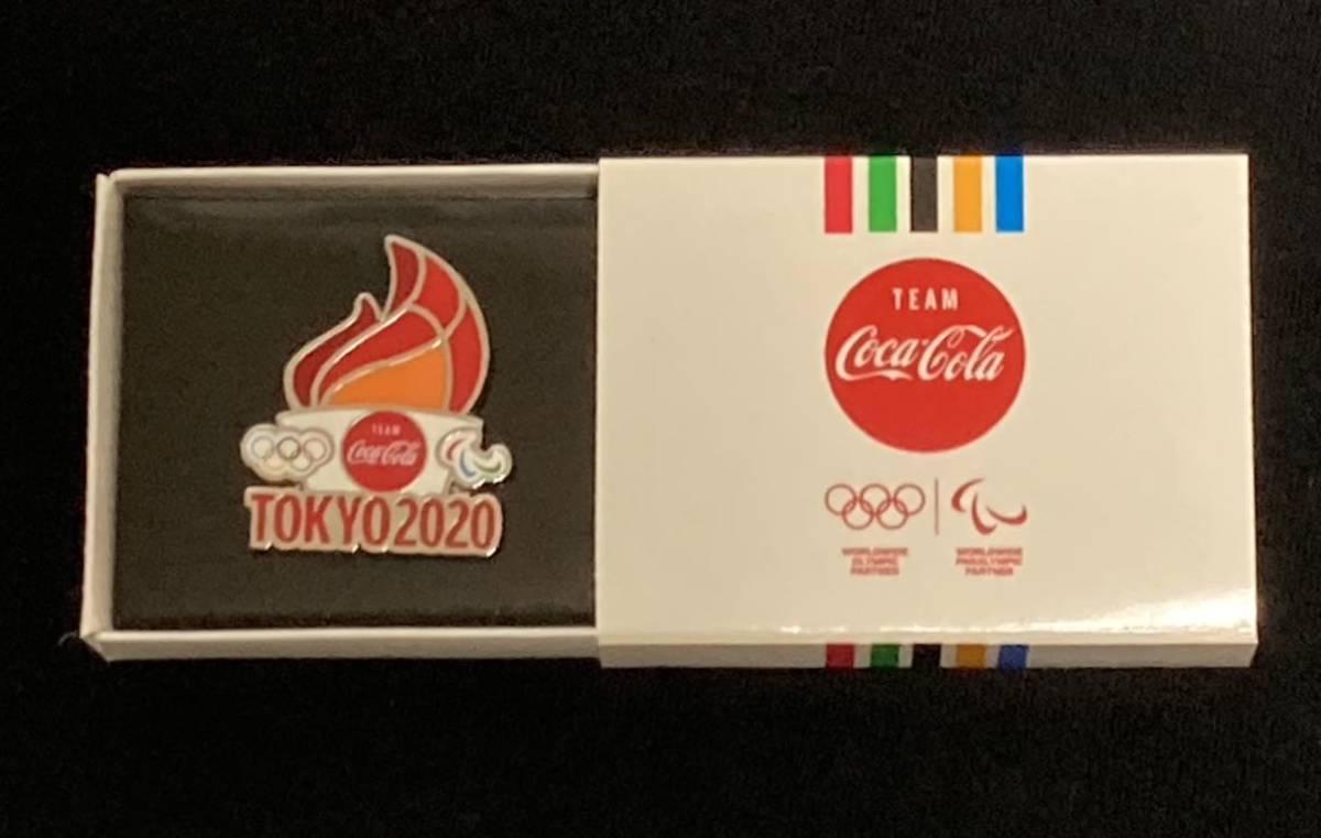 コカコーラ 東京オリンピック 2020記念ピン 聖火 オリンピック ピンバッジ Coca-Cola