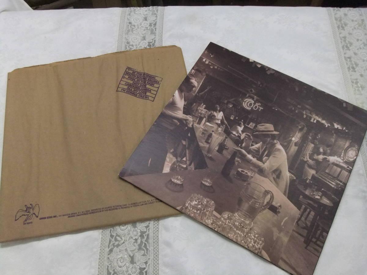 ★レコード★美品★LED ZEPPELIN / IN THROUGH THE OUT DOOR レッド・ツェッペリン SWAN SONG SS 16002