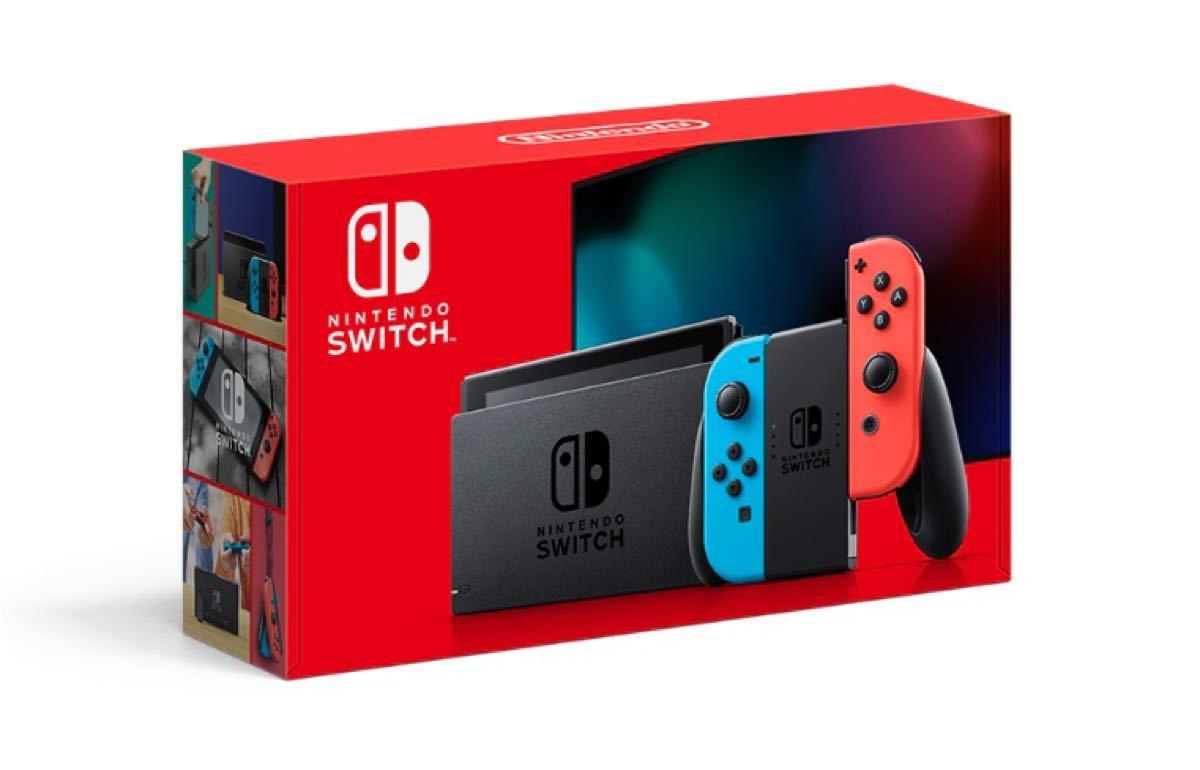 【新品未開封 匿名配送】Nintendo Switch Joy-Con(L) ネオンブルー/(R) ネオンレッド