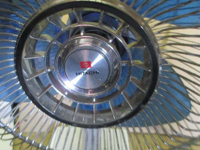 昭和レトロ アンティーク  日立 さわ風  H-31TE 扇風機 卓上扇風機_画像2