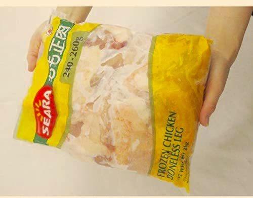 "c- ブラジル産 ""鶏もも肉"" 約2kg x 5 バッグ/合計10キロ_画像2"