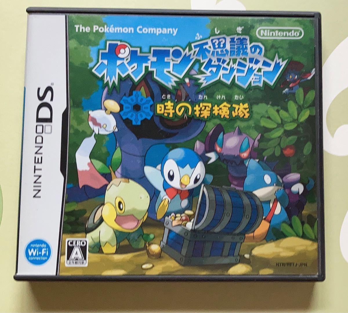DSソフト ポケモン不思議のダンジョン 時の探検隊