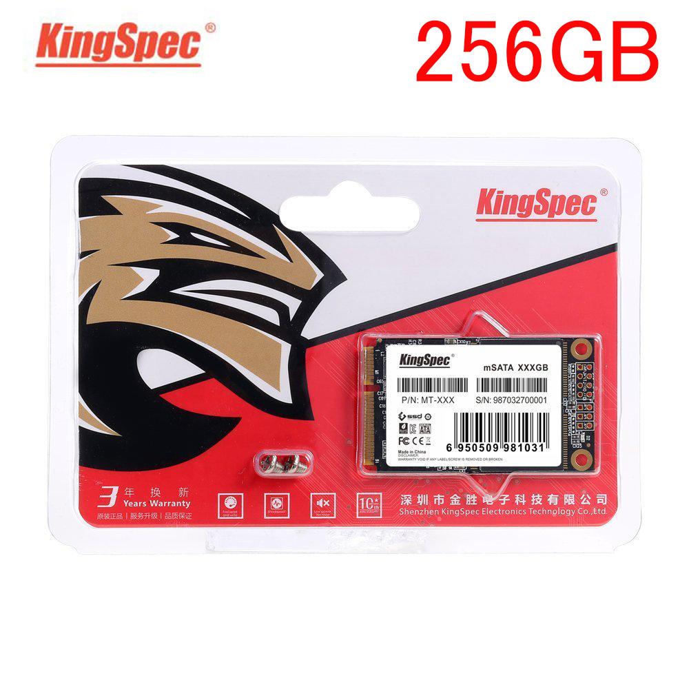 ●最安新品!● SSD KingSpec mSATA 256GB 新品未開封 3D NAND TLC 内蔵型 MT-256 デスクトップPC ノートパソコン_画像1