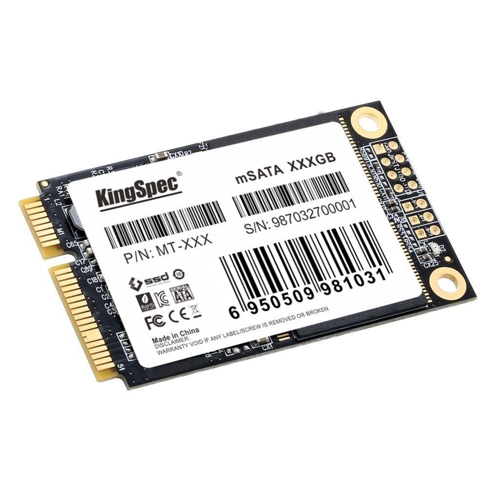 ●最安新品!● SSD KingSpec mSATA 256GB 新品未開封 3D NAND TLC 内蔵型 MT-256 デスクトップPC ノートパソコン_画像2