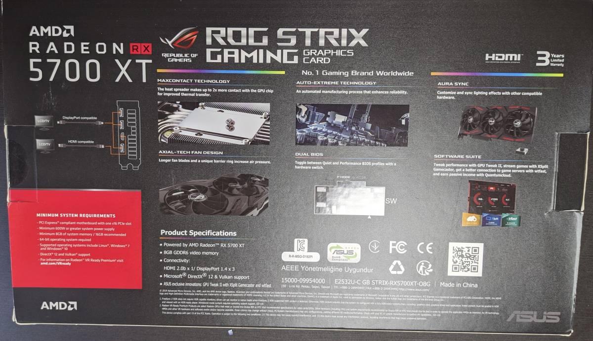 ASUS ROG-STRIX RX5700XT-O8G-GAMING OC Model_画像9