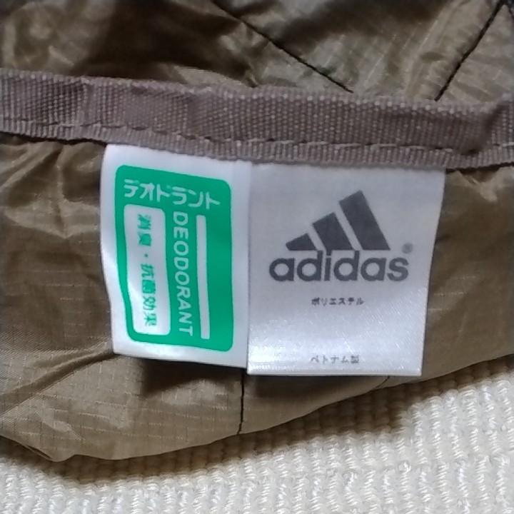 adidas  ポケッタブルバッグ(?) (ベージュ)
