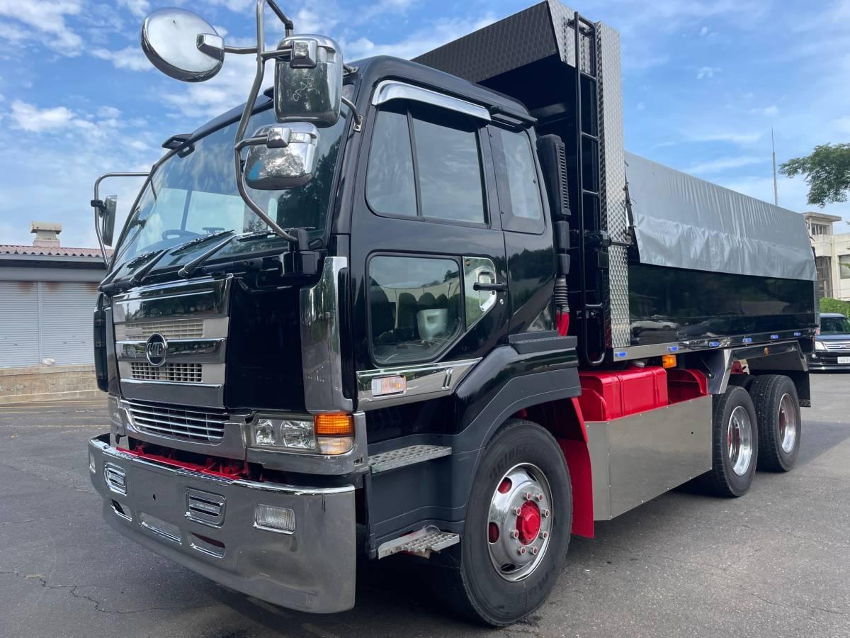 「【平成15年式】UDトラックス ビックサム ダンプ エンジンRH8 V8 走行693.037km 満タン車検!! 360馬力」の画像1