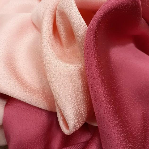 正絹 82301 薄手 無地 ピンク色 シルク2枚 はぎれ ハギレ リメイク ハンドメイド