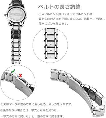 新品BPグレー 12点35-2Kセット腕時計バンド調整 ColiChili 時計ベルト交換 修理 工具 品質が良い_画像6