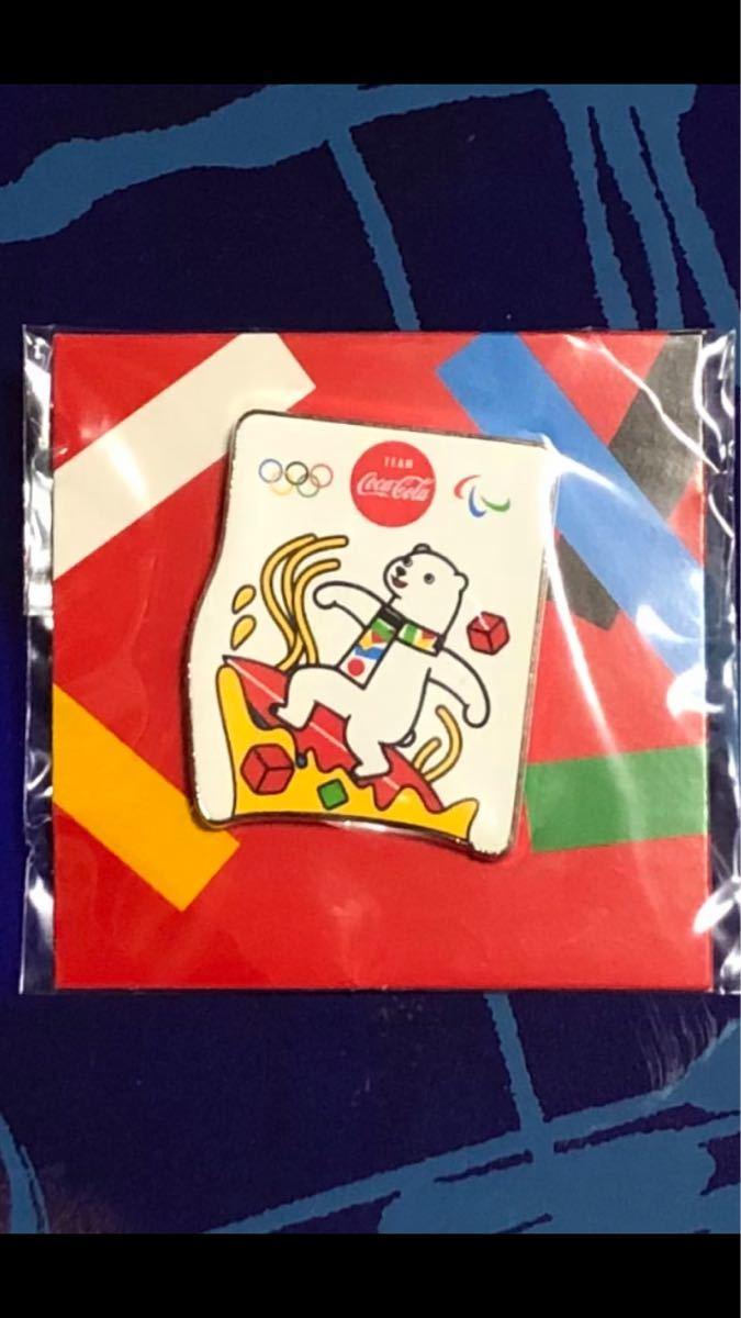 コカ・コーラ 東京オリンピック ピンバッジ 未開封 オリジナルピンズ サーフィン
