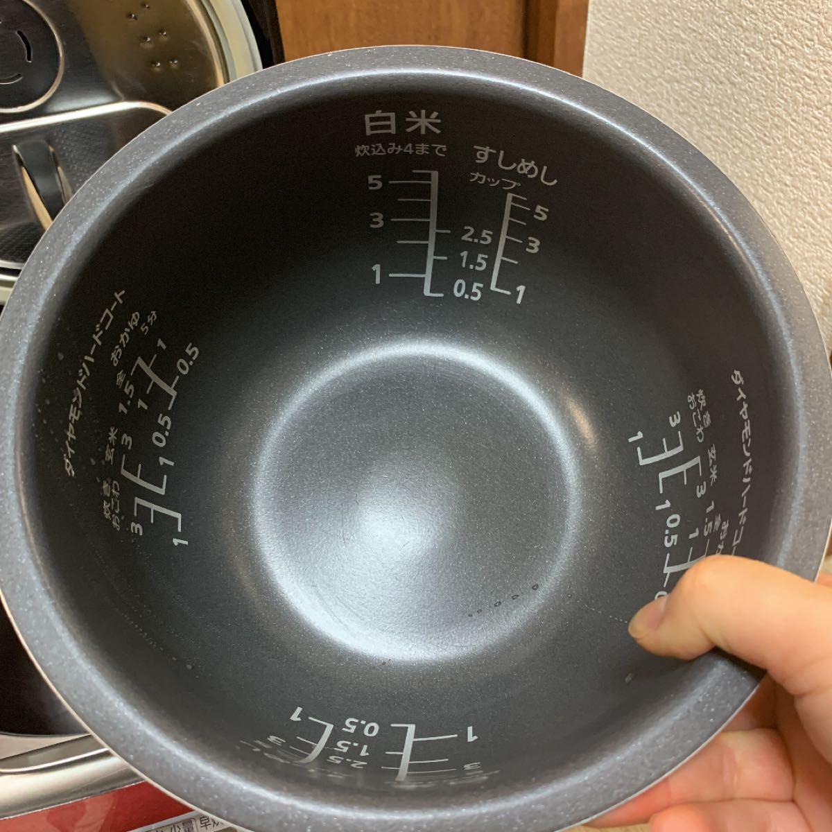 PanasonicスチームIH炊飯器動作品SR-SY105J
