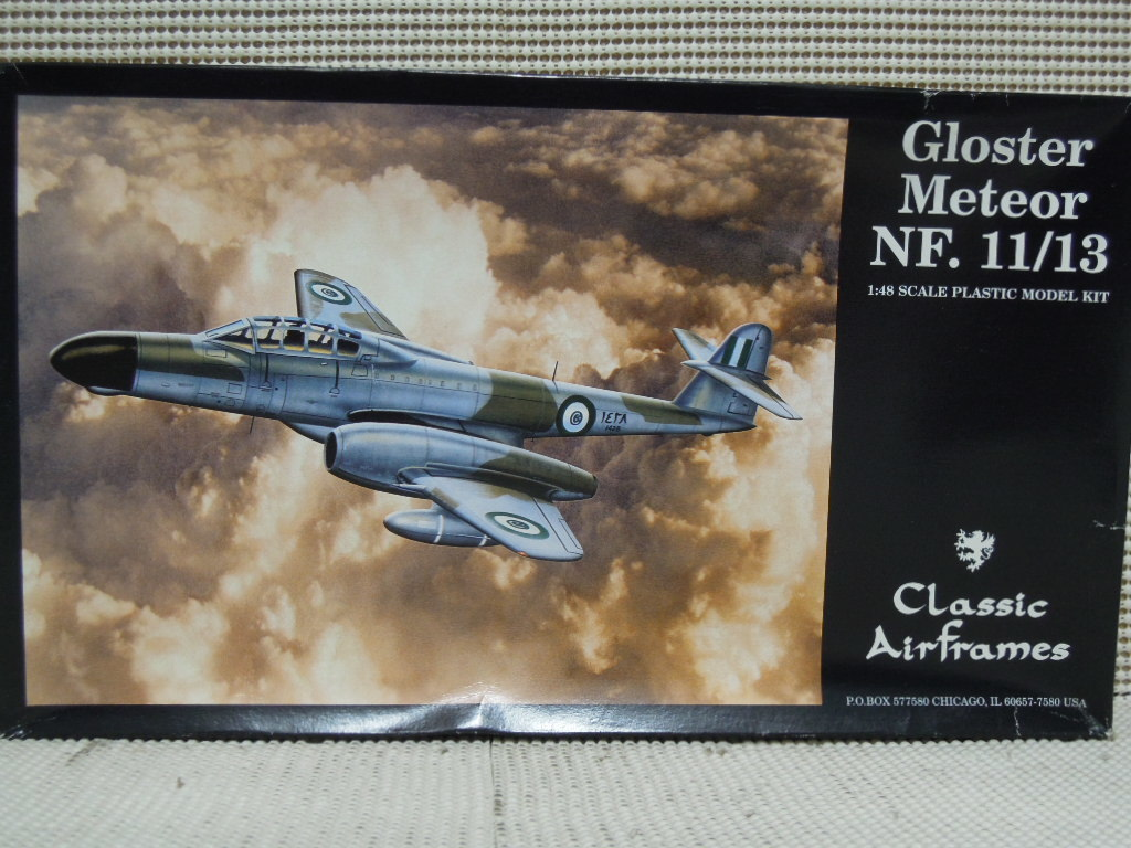 Classic Airframes 1/48 Gloster Meteor NF.11/13