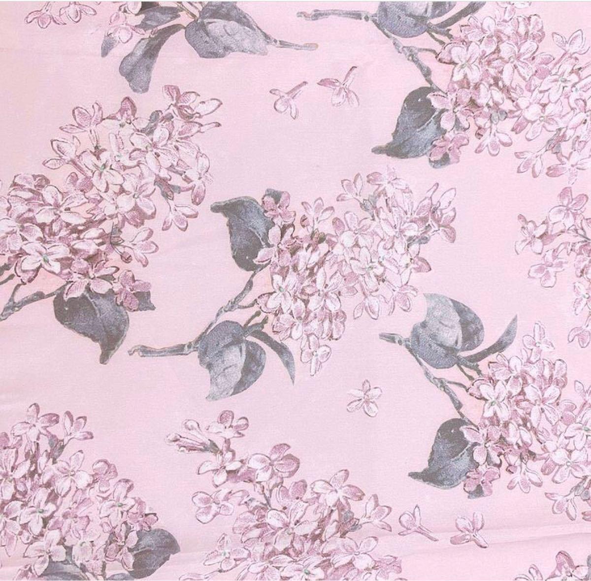 リバティ 別注 アーカイブライラック ピンク 生地幅×200cm 国産タナローン はぎれ ハンドメイド カットクロス
