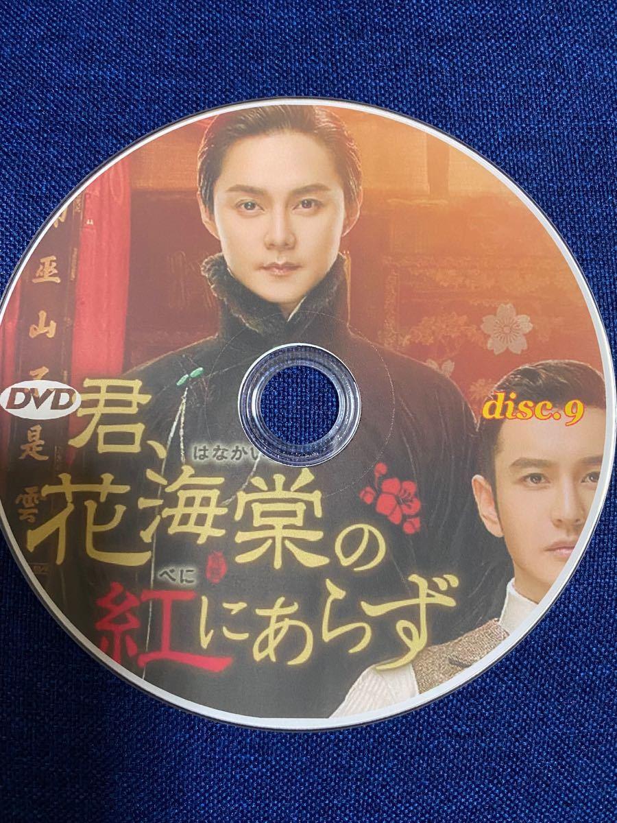 中国ドラマDVD全話 君 花海棠の紅にあらず 日本語字幕