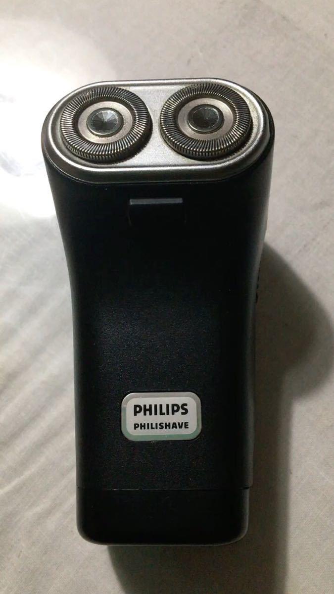 Philips philishave 乾電池式 HP1207 不良接触あり