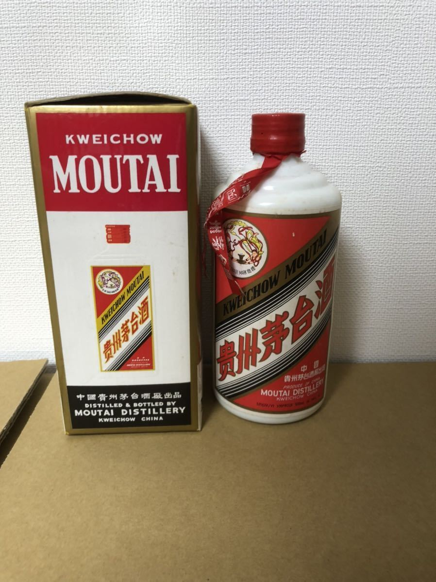 貴州茅台酒 マオタイ酒 古酒 天女 中国酒 箱付き 53% 53度 500ml 1995