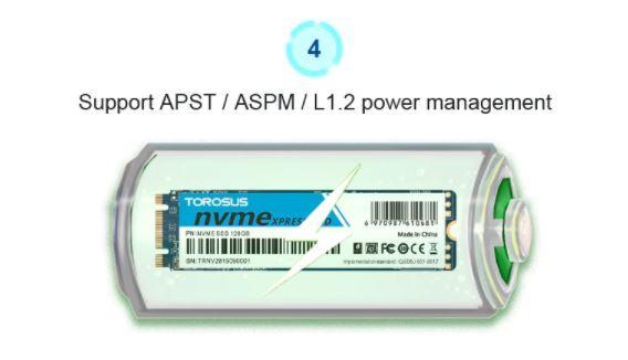 【最安】新品 SSD 256GB TOROSUS M.2 NVMe PCI-E 未開封 デスクトップ ノートPC 高速 2280 TLC 3D NAND 内蔵型 パソコン_画像8