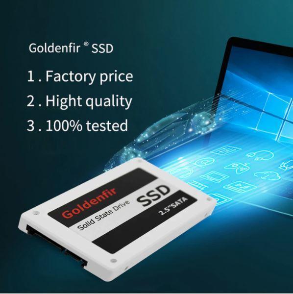 【最安】新品 SSD 120GB Goldenfir SATA3 / 6.0Gbps 未開封 ノートPC デスクトップPC 内蔵型 パソコン 2.5インチ 高速 NAND TLC_画像7