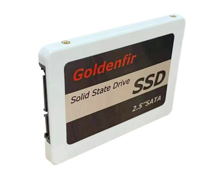 【最安】新品 SSD 120GB Goldenfir SATA3 / 6.0Gbps 未開封 ノートPC デスクトップPC 内蔵型 パソコン 2.5インチ 高速 NAND TLC_画像2