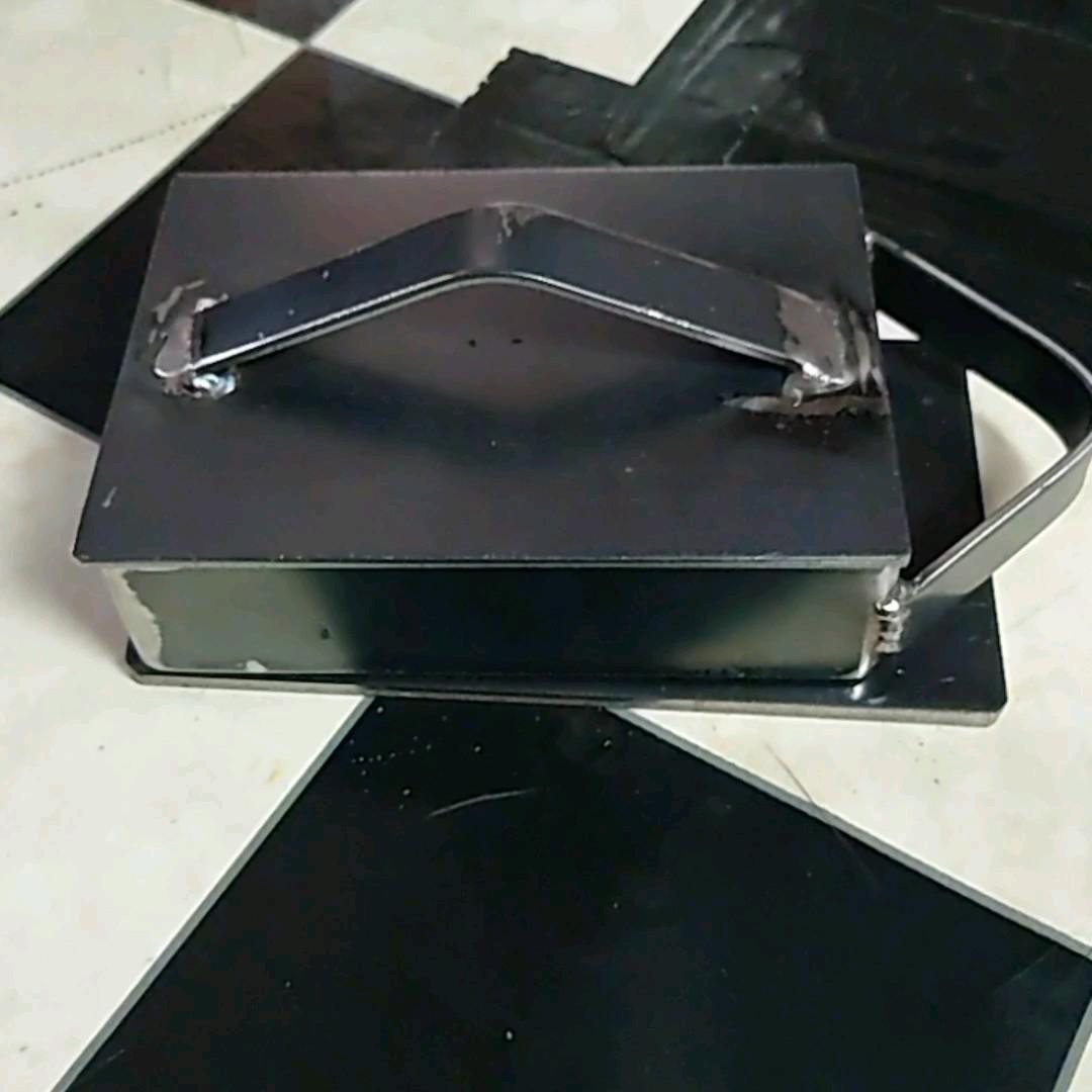 バーベキュー箱曲げ鉄板3.2ミリ153×107×40