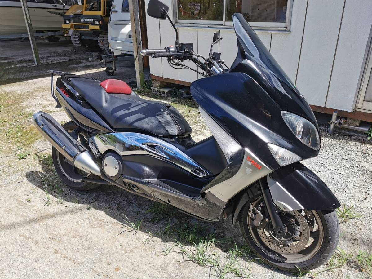 「★☆ヤマハ T-MAX500 SJ04J 人気のスーパースクーター 車検満付き!!☆★」の画像1