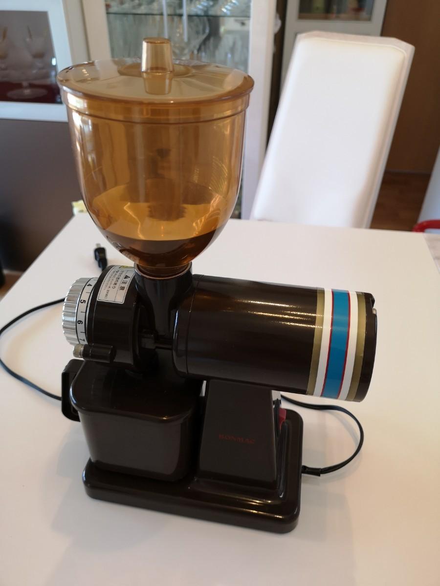 コーヒーミル 電動 ボンマック BONMAC