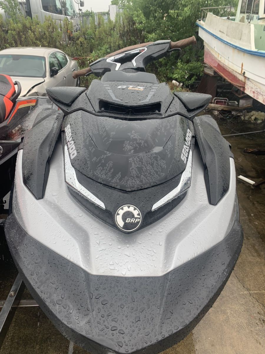 「Seadoo GTX LIMITED 300 シードゥー アワー48 ジェットスキー 下取り 車 バイク 交換可能」の画像2