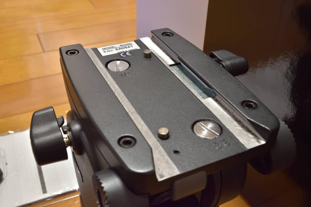 Libec(リーベック)ビデオカメラ用雲台、RH25D_画像4