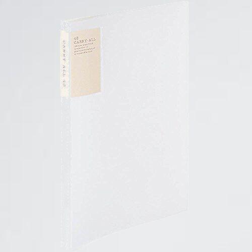 新品 未使用 ファイル コクヨ V-9C 透明 ラ-5003T クリアファイル キャリ-オ-ル 固定式 背ポケット A4 40ポケット_画像1