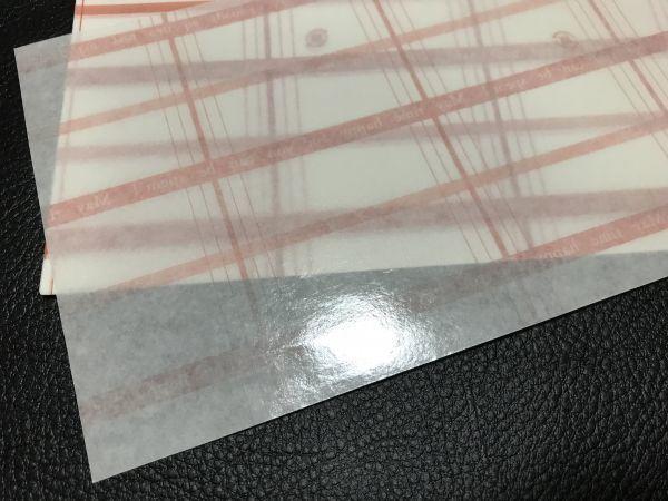 小さなお品物の包み紙 25枚 包装紙 ラッピングペーパー 模造紙 片艶クラフト紙 片面ツヤ加工 約20×11㎝ _画像3
