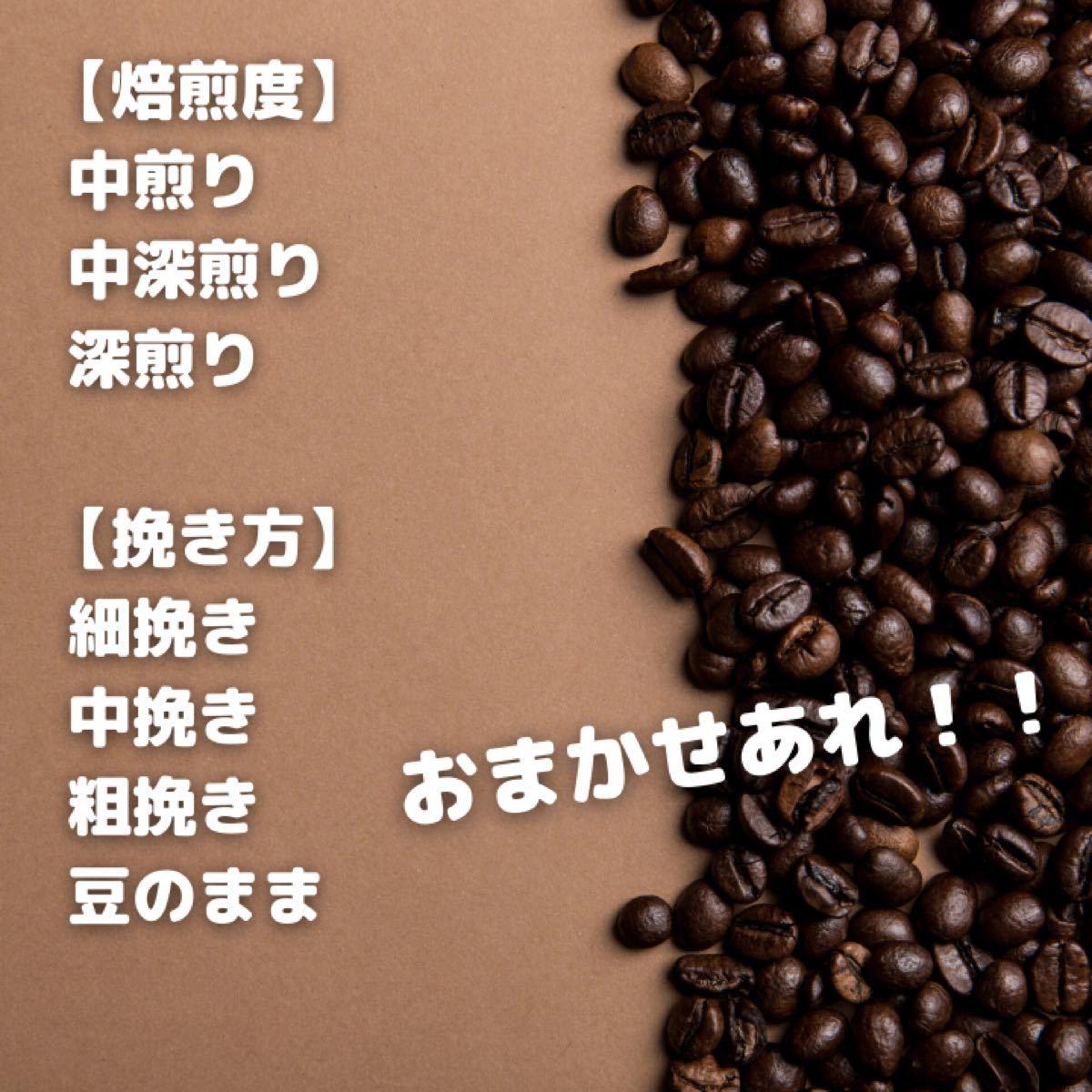 自家焙煎コーヒー豆【ブラジル サントス】200g