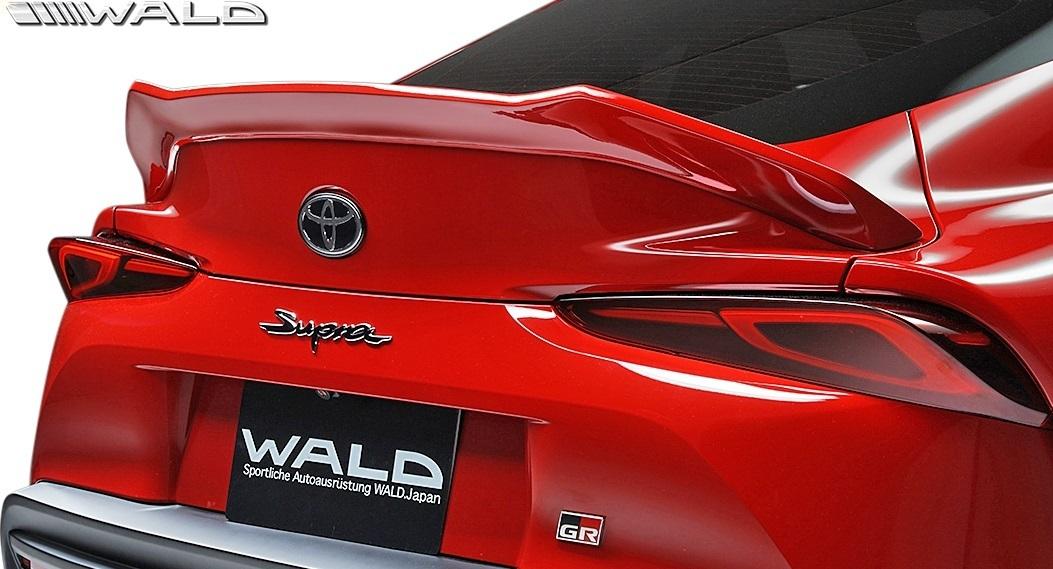 【M's】トヨタ GR スープラ RZ/SZ-R/SZ 前期 (R.01.05-) WALD SPORTS LINE トランクスポイラー // ヴァルド バルド FRP エアロ パーツ_画像1